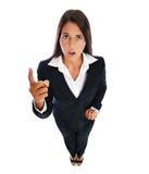 φωνάζοντας επιχειρησιακή γυναίκαη Στοκ εικόνα με δικαίωμα ελεύθερης χρήσης