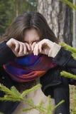 φωνάζοντας θηλυκό Στοκ Φωτογραφίες