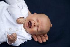 φωνάζοντας κορίτσι μωρών Στοκ Φωτογραφίες