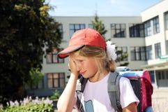 Φωνάζοντας κορίτσι Στοκ Φωτογραφίες