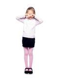 Φωνάζοντας κορίτσι Στοκ φωτογραφία με δικαίωμα ελεύθερης χρήσης