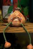 φωνάζοντας κρεμμύδι Στοκ Εικόνα