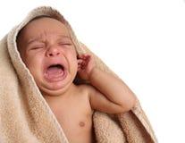Φωνάζοντας μωρό στοκ εικόνα