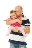 φωνάζοντας φιλώντας άτομο μωρών Στοκ Εικόνες