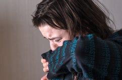 Φωνάζοντας girl_real συγκίνηση Στοκ φωτογραφίες με δικαίωμα ελεύθερης χρήσης