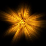 φως έκρηξης Στοκ Εικόνα