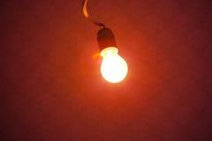 Φως λαμπτήρων βολβών Στοκ φωτογραφίες με δικαίωμα ελεύθερης χρήσης