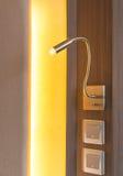 φως λαμπτήρων ενός κρεβατιού Στοκ Εικόνες