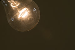 Φως λαμπτήρων που απομονώνεται Στοκ Φωτογραφία