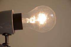 Φως λαμπτήρων που απομονώνεται Στοκ φωτογραφία με δικαίωμα ελεύθερης χρήσης
