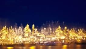 φως αποτελεσμάτων Στοκ Εικόνες