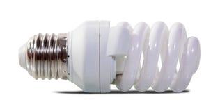 φως βολβών πέρα από το λευκό Στοκ Εικόνα