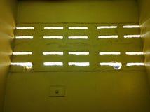 Φως για να διαπεράσει τον τοίχο Στοκ Φωτογραφίες