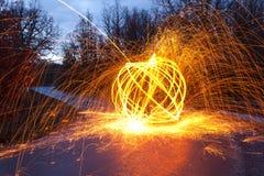 φως γκράφιτι Στοκ εικόνα με δικαίωμα ελεύθερης χρήσης