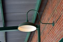 Φως επάνω ο σταθμός Στοκ εικόνα με δικαίωμα ελεύθερης χρήσης