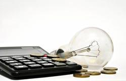 φως επιχειρησιακής ιδέας βολβών τραπεζογραμματίων Στοκ Εικόνα