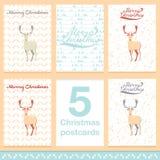 Φως ευχετήριων καρτών Χριστουγέννων και snowflakes διανυσματικό υπόβαθρο Εύθυμη διακοπών επιθυμίας διακόσμηση διακοσμήσεων σχεδίο Στοκ εικόνες με δικαίωμα ελεύθερης χρήσης