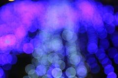 Φως θαμπάδων Bokeh Στοκ φωτογραφία με δικαίωμα ελεύθερης χρήσης