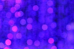 Φως θαμπάδων Bokeh Στοκ Φωτογραφίες