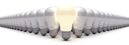 φως ιδεών βολβών ελεύθερη απεικόνιση δικαιώματος