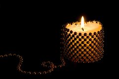 φως ιστιοφόρου κεριών Στοκ Εικόνα