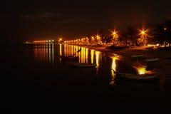 Φως και παραλία Στοκ εικόνα με δικαίωμα ελεύθερης χρήσης