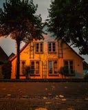 Φως και σπίτι Στοκ Φωτογραφία