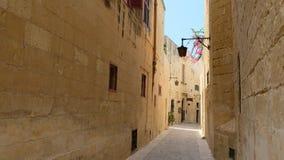 Φως και χρώμα Mdina στοκ εικόνα με δικαίωμα ελεύθερης χρήσης