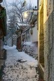 Φως καταστημάτων στο χωριό bukchon hanok Στοκ φωτογραφία με δικαίωμα ελεύθερης χρήσης