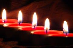φως κεριών Στοκ εικόνα με δικαίωμα ελεύθερης χρήσης
