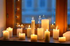 φως κεριών Στοκ Φωτογραφίες