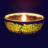 Φως κεριών Aromatherapy Στοκ Φωτογραφία