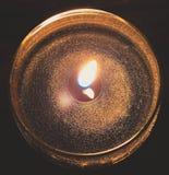 Φως κεριών Aromatherapy Στοκ εικόνες με δικαίωμα ελεύθερης χρήσης