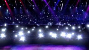φως λάμψης συναυλίας Στοκ φωτογραφία με δικαίωμα ελεύθερης χρήσης