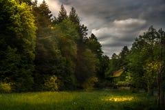 Φως μετά από το σκοτάδι Στοκ φωτογραφία με δικαίωμα ελεύθερης χρήσης