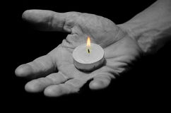 Φως μεταφοράς χεριών. Στοκ φωτογραφίες με δικαίωμα ελεύθερης χρήσης