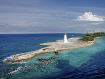 Φως νησιών παραδείσου, Μπαχάμες στοκ φωτογραφία