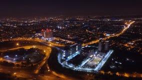 Φως νύχτας στο kl Στοκ Φωτογραφία