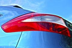 Φως ουρών αυτοκινήτων Στοκ εικόνες με δικαίωμα ελεύθερης χρήσης