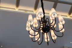 Φως πολυελαίων Modren πολυτέλειας στοκ εικόνα με δικαίωμα ελεύθερης χρήσης