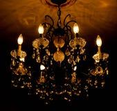 Φως πολυελαίων Στοκ εικόνες με δικαίωμα ελεύθερης χρήσης