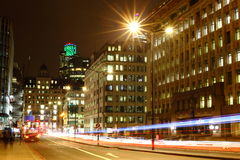 Φως πόλεων Στοκ Εικόνες