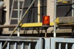 Φως σημάτων πυλών Στοκ φωτογραφίες με δικαίωμα ελεύθερης χρήσης
