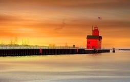 φως σπιτιών της Ολλανδία&sigm Στοκ Εικόνες