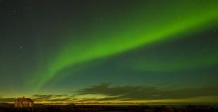 φως σπιτιών notrh παλαιό Στοκ Εικόνα
