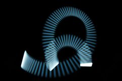 Φως στην κίνηση στοκ εικόνα