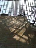 Φως στον ατελή τοίχο ναών Στοκ φωτογραφία με δικαίωμα ελεύθερης χρήσης