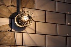 Φως στον τοίχο Στοκ εικόνες με δικαίωμα ελεύθερης χρήσης