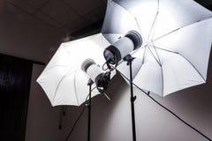 Φως στούντιο για τη φωτογραφία στοκ εικόνες με δικαίωμα ελεύθερης χρήσης