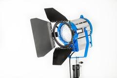 Φως στούντιο του σταθερού φωτός σε ένα άσπρο υπόβαθρο στοκ φωτογραφία με δικαίωμα ελεύθερης χρήσης